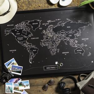 Travel Maps Frame